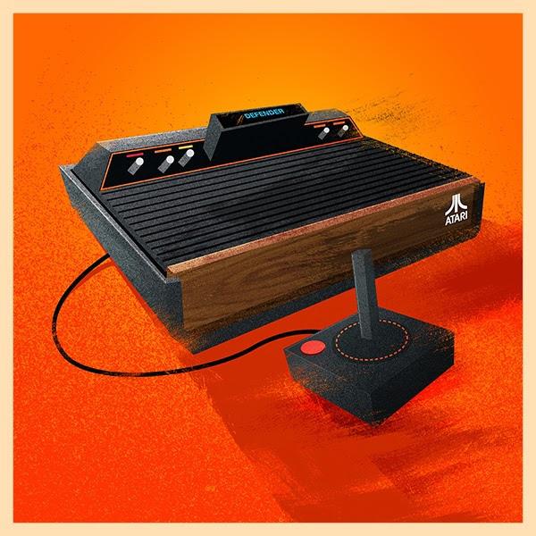 Atari Video Game Console Print