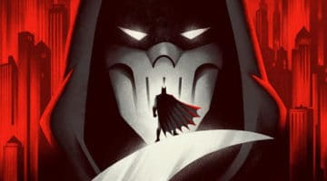 Batman Mask of the Phantasm Movie Print