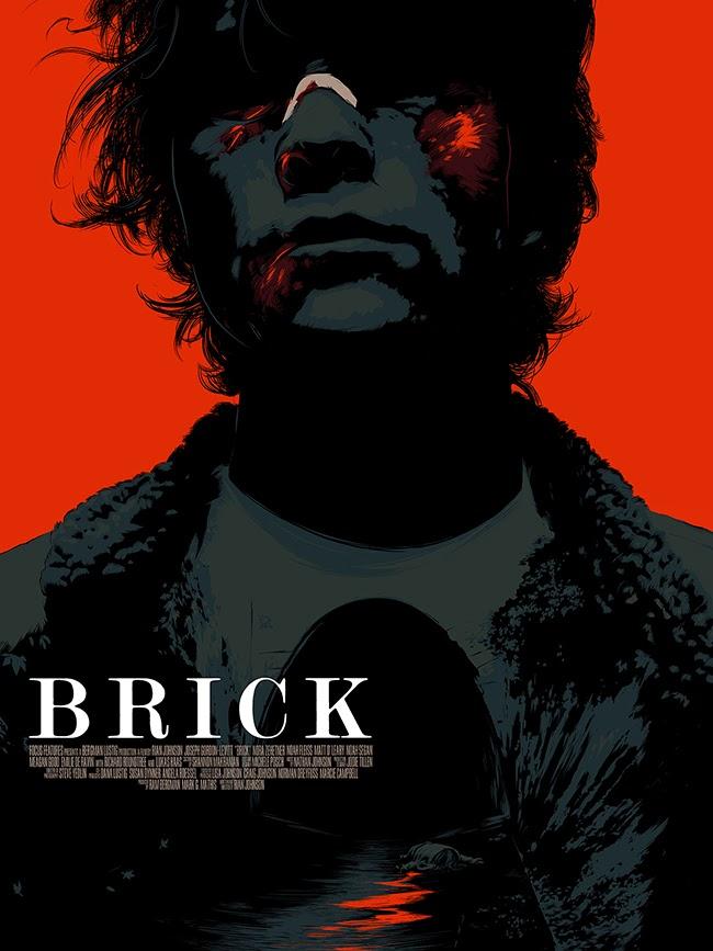 Brick Movie Poster Print