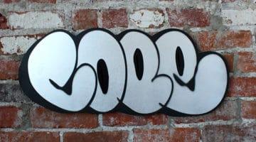 Cope2 Wood Cut Print