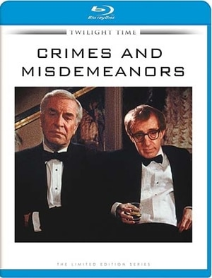 Crimes and Misdemeanors Blu-ray Cover