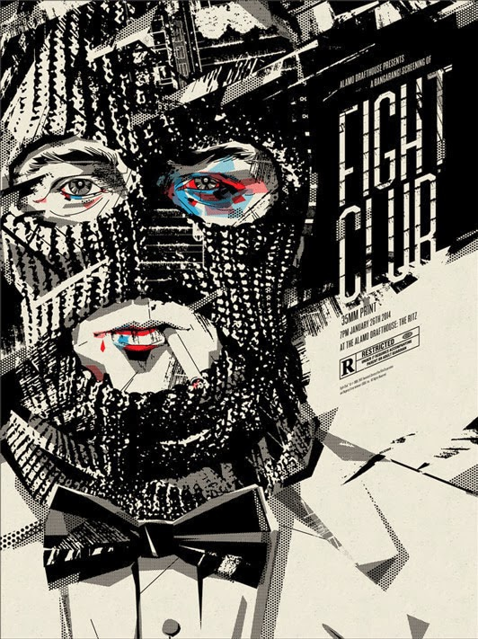 Fight Club Movie Poster Print