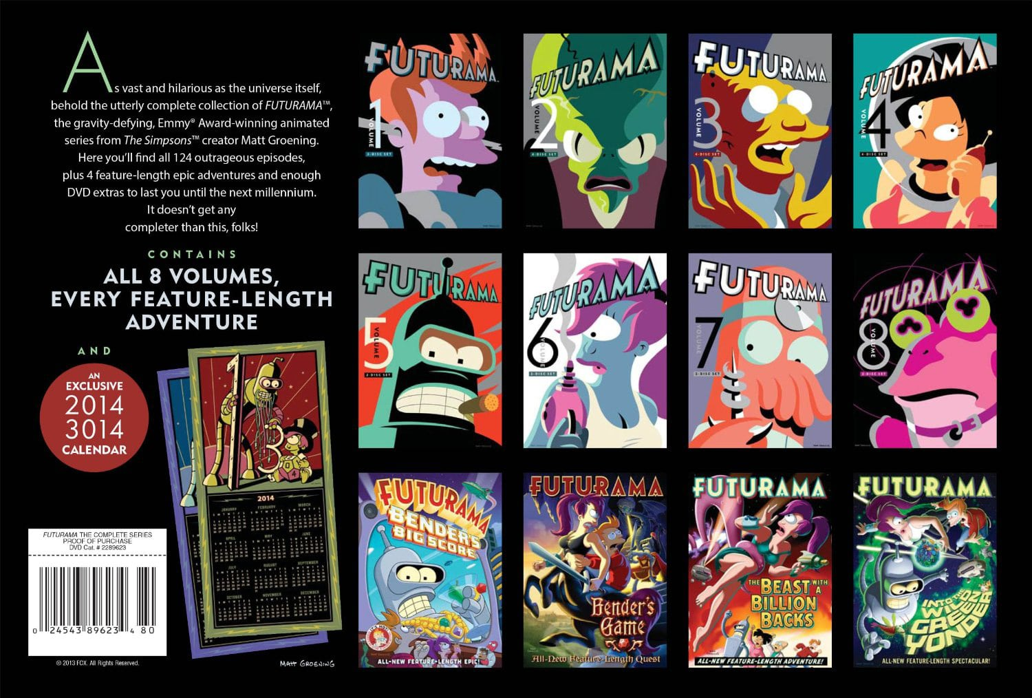Futurama Complete Series Description