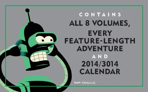 Futurama Series Boxed Set Note