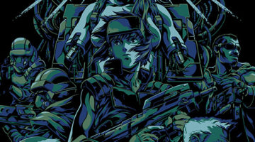 Ghost in The Shell and Walking Dead Prints