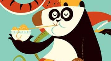 Kung Fu Panda Movie Poster