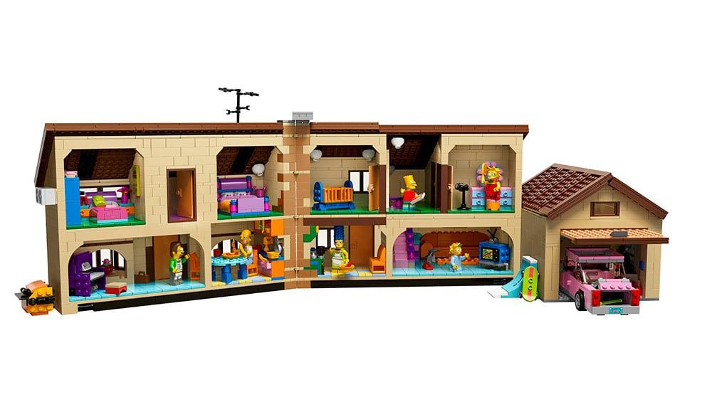Lego Simpsons House Inside