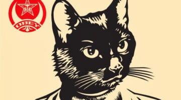 Radical Cat Print
