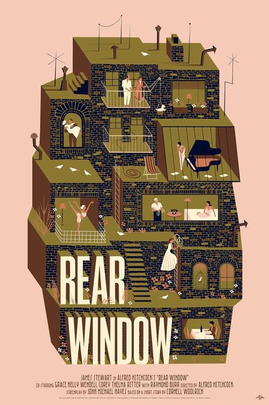 Rear Window Poster Print