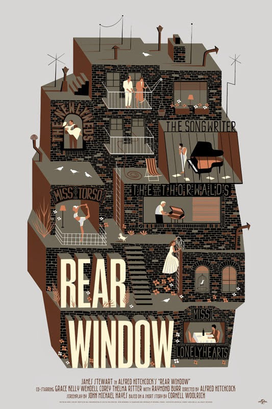 Rear Window Poster Print Variant