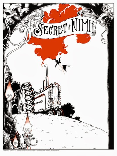 Secret of Nimh Letterpress