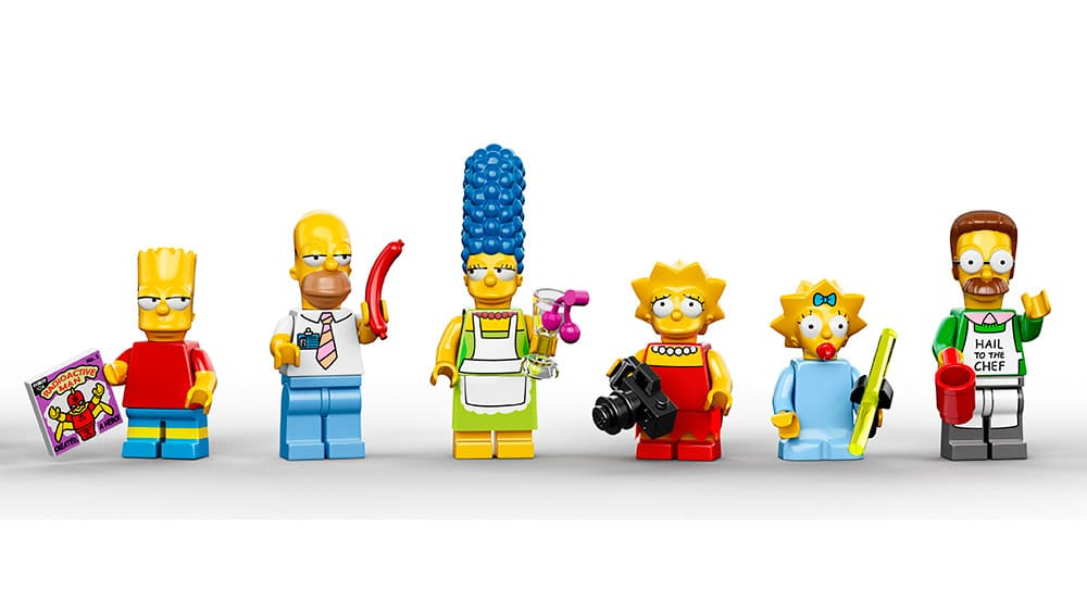 Lego Simpsons Characters