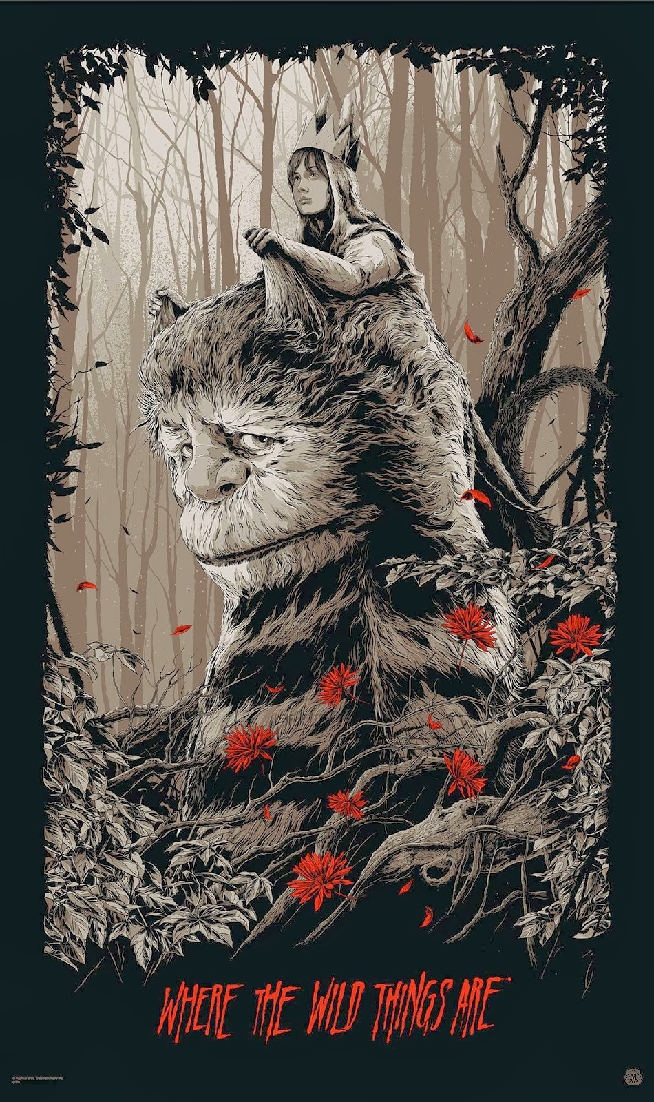 Where the Wild Things Are Movie Poster Variant