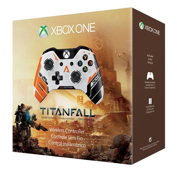 Limited Edition Titanfall Xbox One Controller Box Art