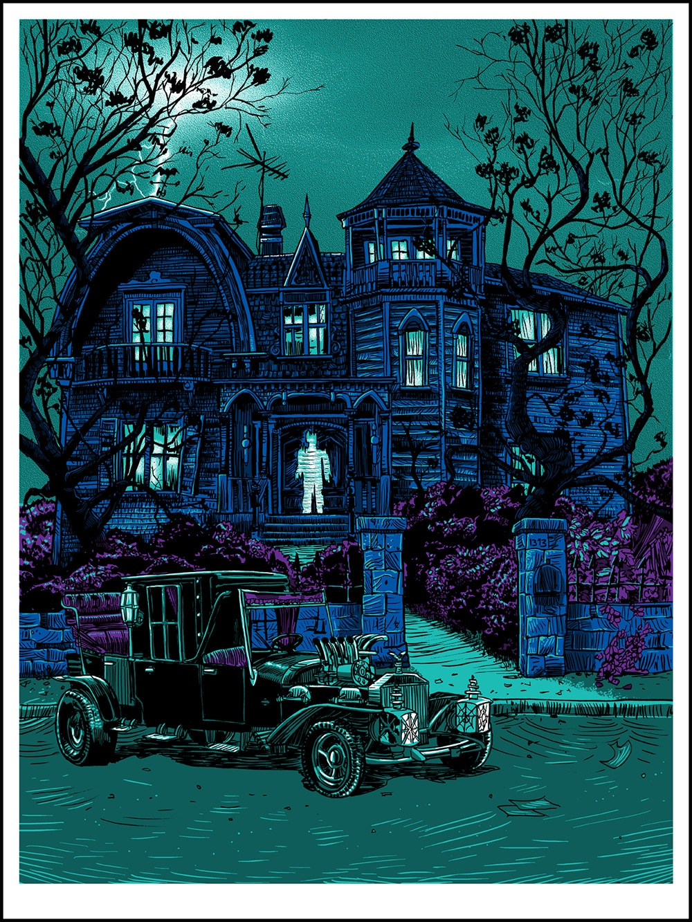 The Munsters 1313 Variant Print