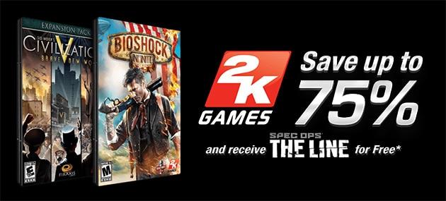 2K GameFly Sale