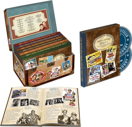 Abbott and Costello Complete Universal Collection