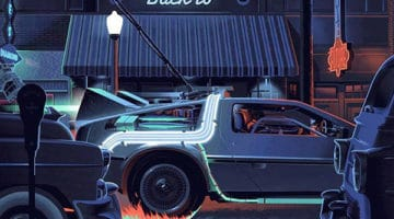 Back to the Future Movie Prints