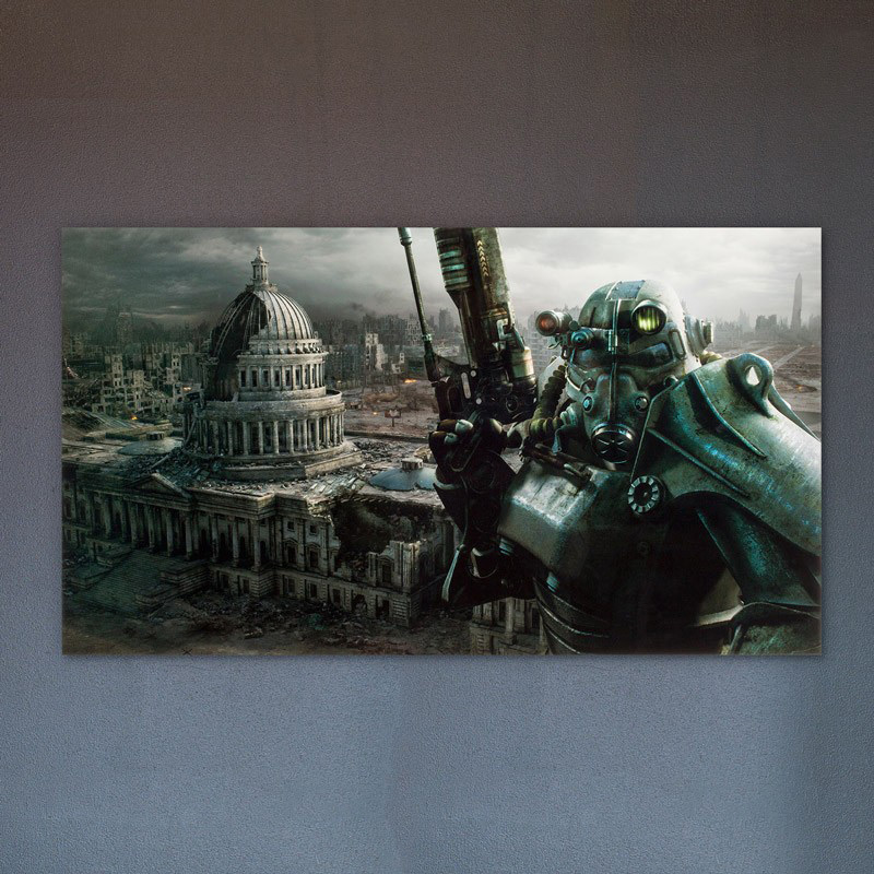 Capitol Metal Print Hanging