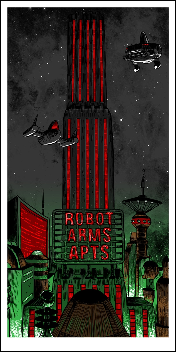 Robot Arms Print