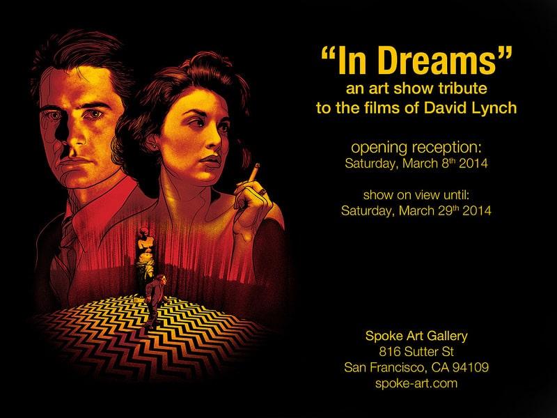 In Dreams David Lynch Art Show