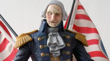 Motorized Patriot Figure