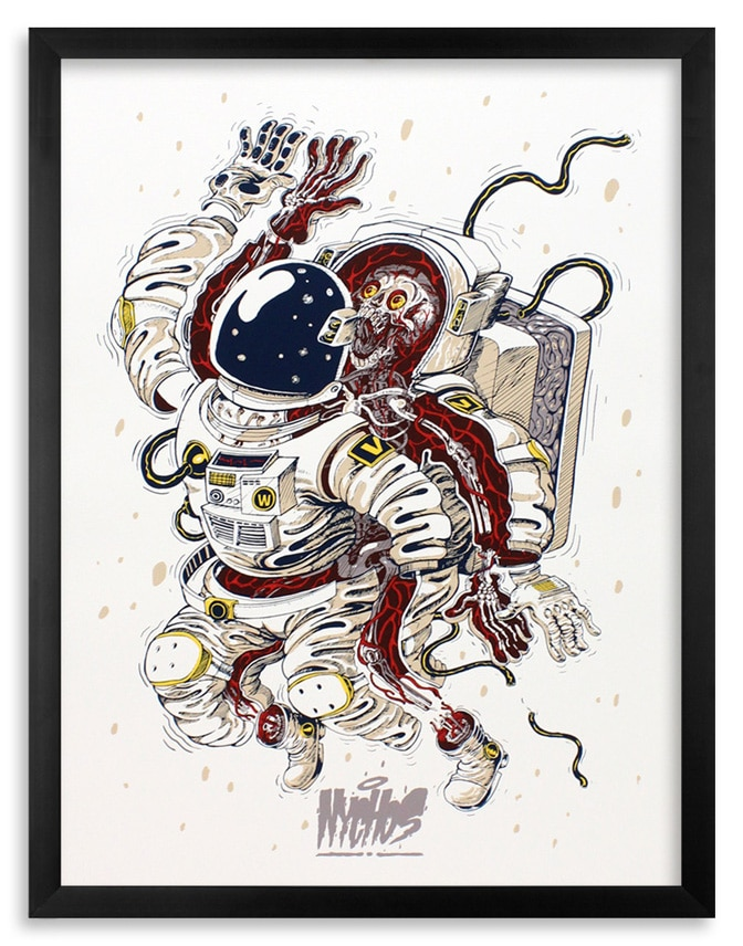 Nychos Dissection Of An Astronaut