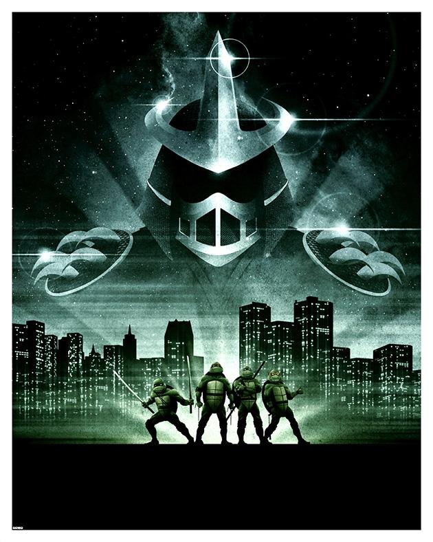 TMNT Movie Print