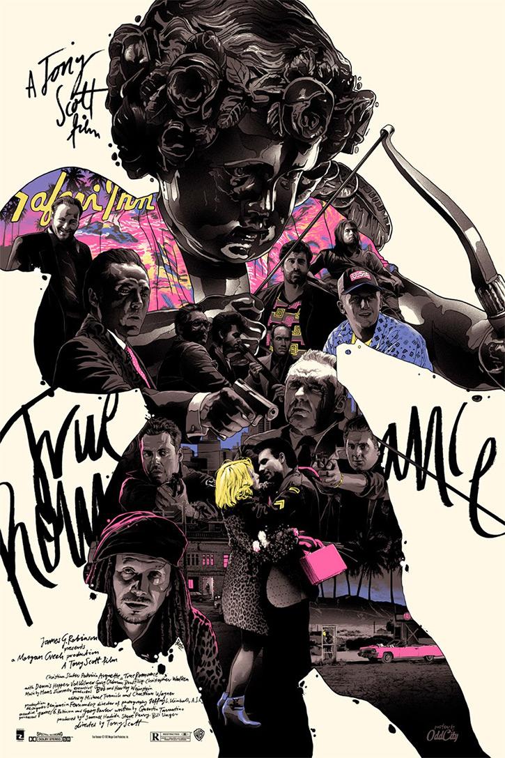 True Romance LA Poster by Gabz