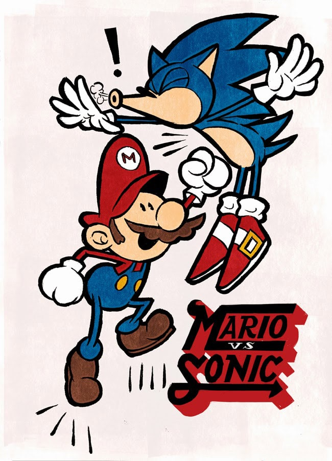 Duncan-Cox-Mario-vs-Sonic