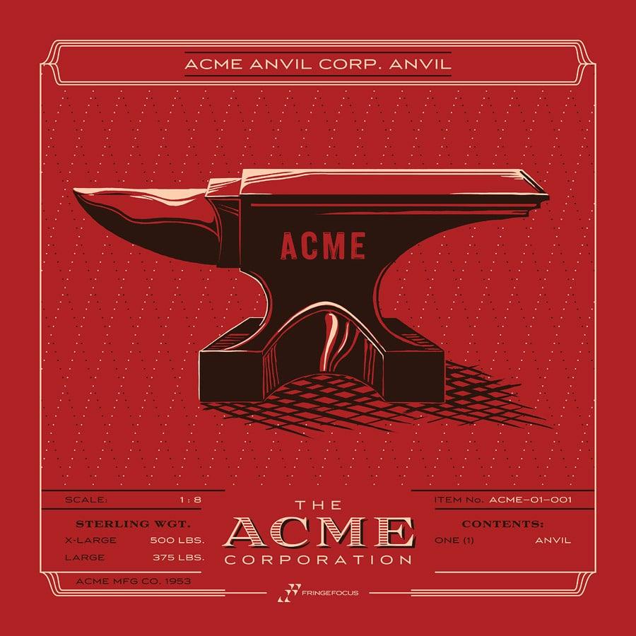 ACME Anvil Print