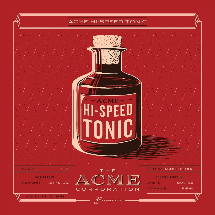 ACME Hi-Speed Tonic Print