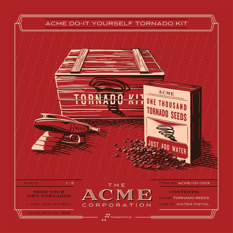 ACME Tornado Kit Print