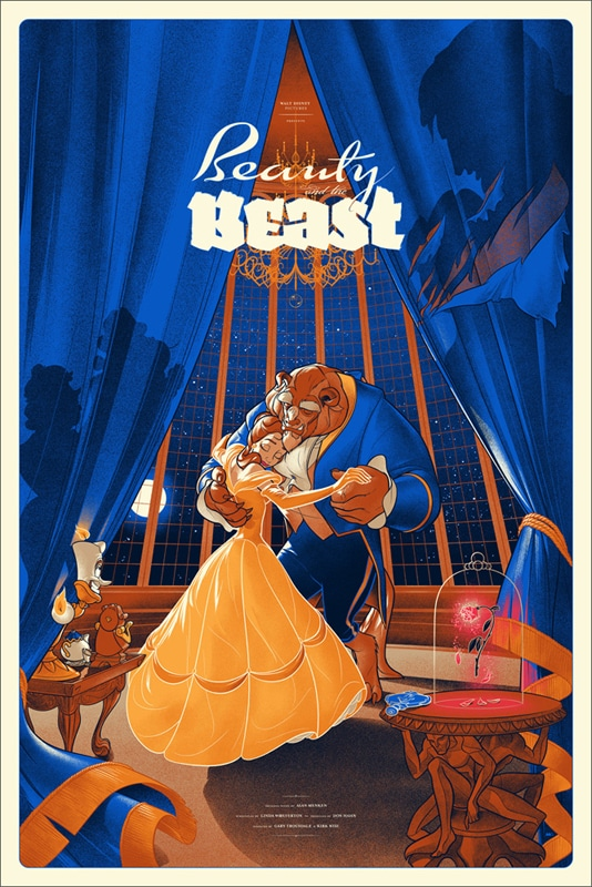 Beauty and the Beast Movie Print