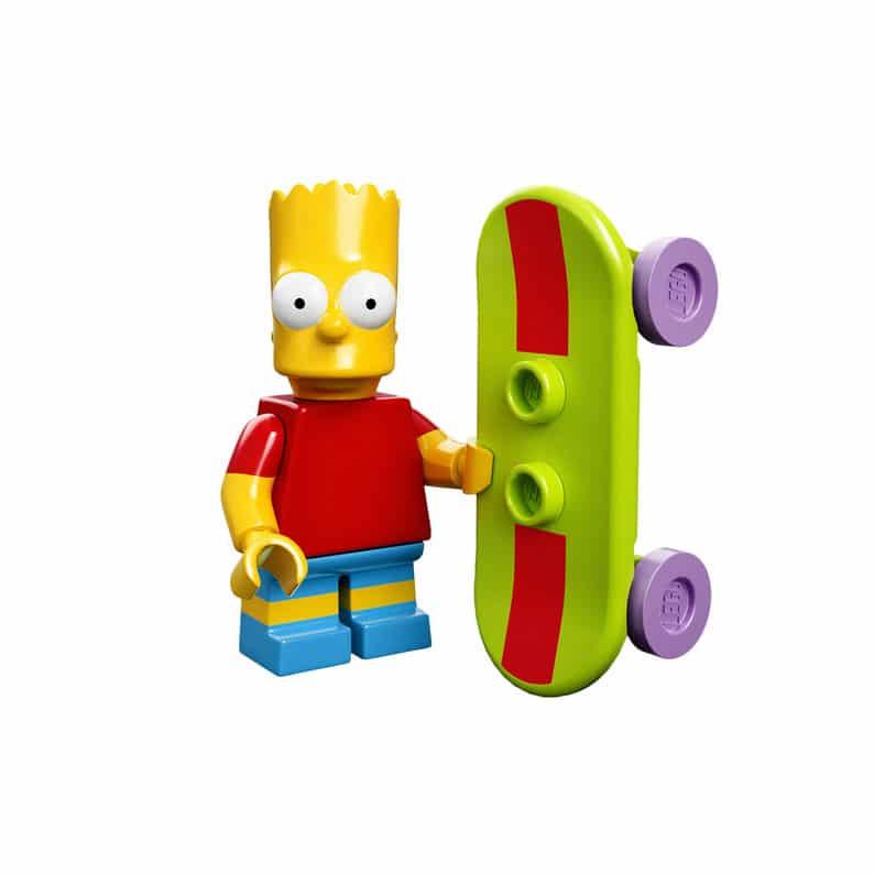 Bart Simpson Lego Minifig