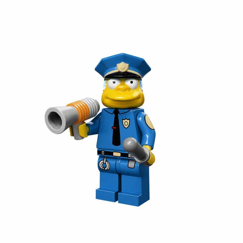 Chief Wiggum Lego Minifig