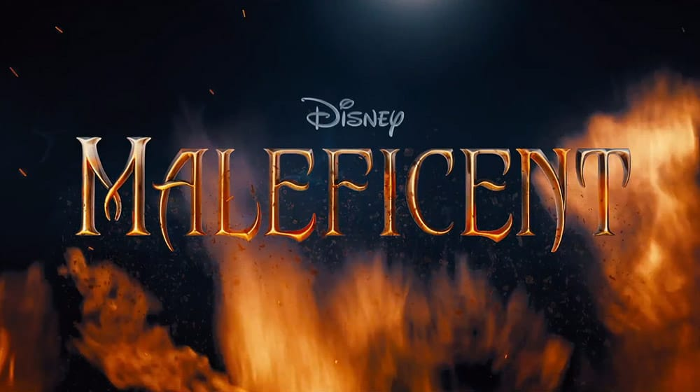 Disneys Maleficent Title Screen