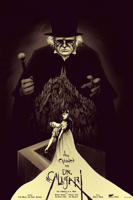 Dr Caligari Movie Poster Variant