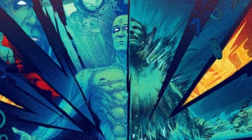 Dr. Manhattan AP Prints by Kevin Tong