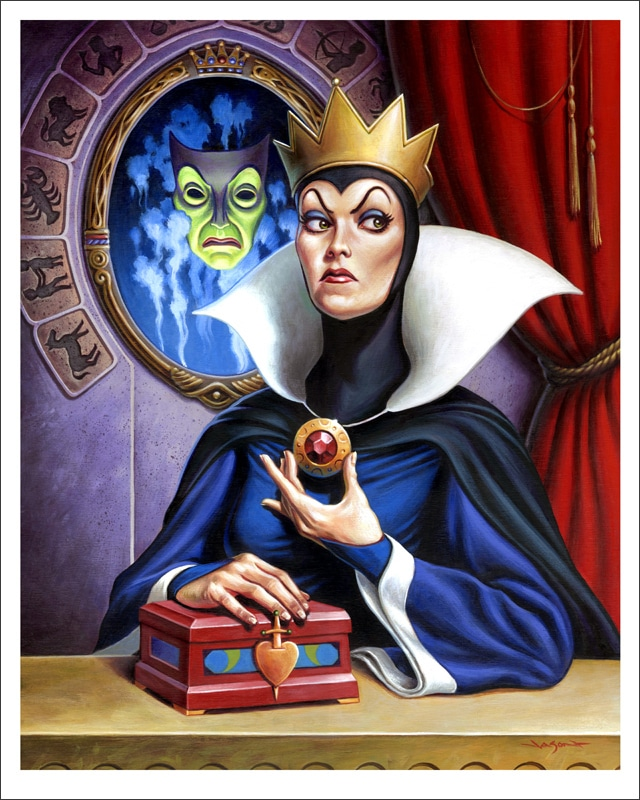 The Evil Queen - Snow White Print