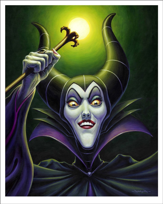 Maleficent Portrait Print