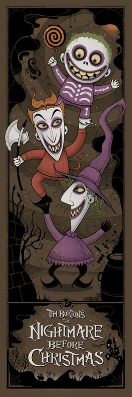 Nightmare Before Christmas Print
