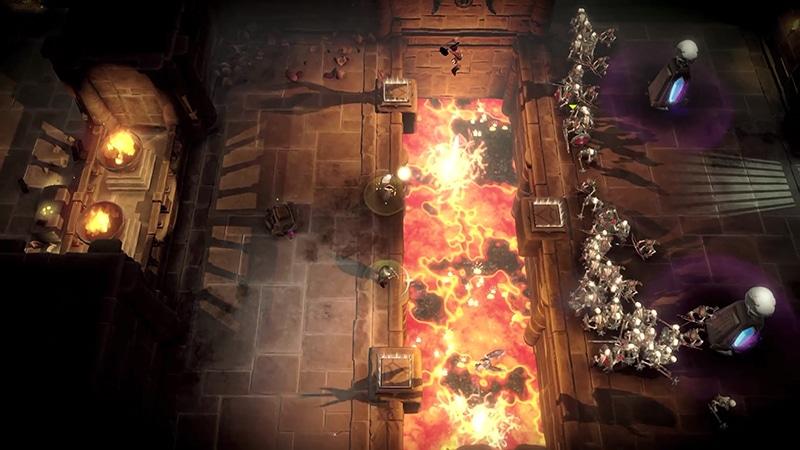 Gauntlet Gameplay Screenshot 1