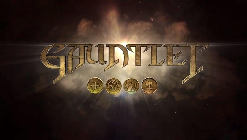 Gauntlet Title Screen