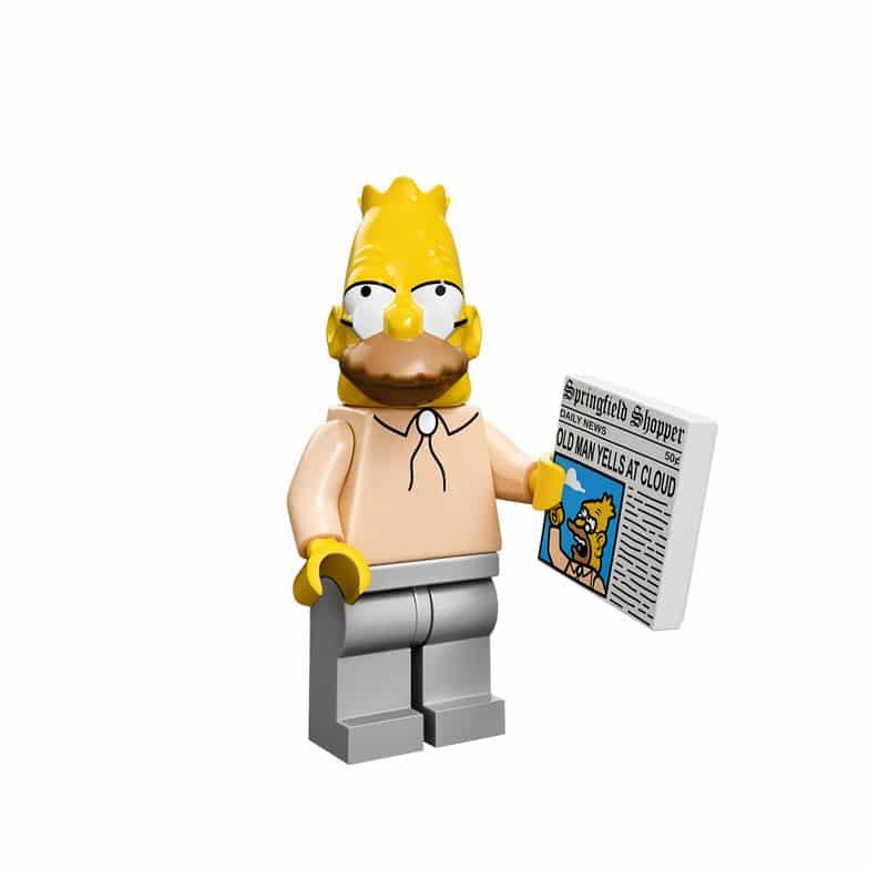 Grandpa Lego Minifig