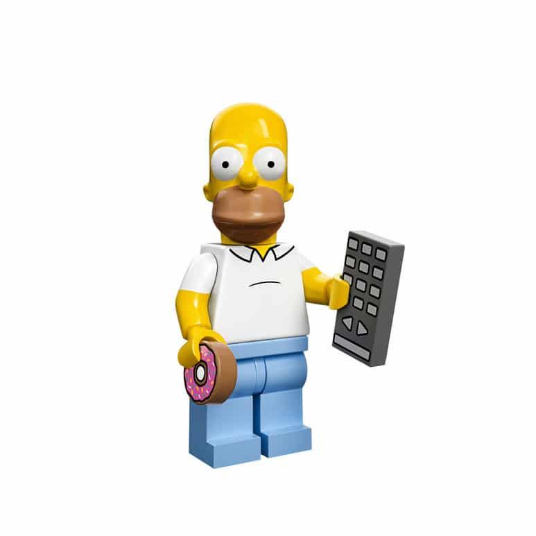 Homer Simpson Lego Minifig