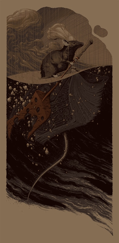 Ratatouille Variant Print by Aaron Horkey