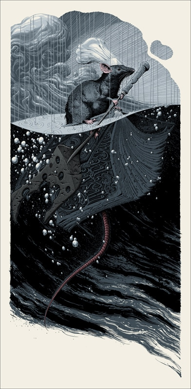 Ratatouille Print Remy by Aaron Horkey