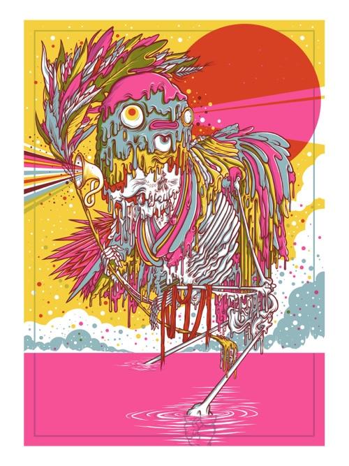 Icarus Drew Millward Print
