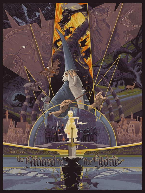 Sword in the Stone Movie Poster